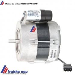 moteur WEISHAUPT pour brûleur WL 20 type. ECK 04 réf pièce 652084