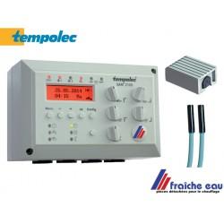 régulation climatique TEMPOLEC  SAM 2100  livrée avec sondes  de départ et sonde extérieure