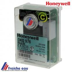 relais HONEYWELL - SATRONIC DKO 976 mod 5 art: 0416005u , bloc de contrôle pour brûleur à 2 allures avec préchauffage de ligne