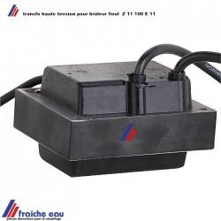 transfo d'allumage pour électrodes haute tension  MAY & CHRISTIE  type Z 11-100 E11 2x 5 KV  11mA pour brûleur au fioul