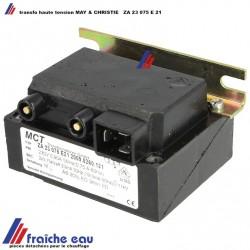 transformateur haute tension may et christe pour les électrodes du brûleur à mazout