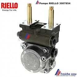 pompe RBL de brûleur RIELLO 3007854 à 2 allures pour GULLIVER bobines spécifiques livrées séparément