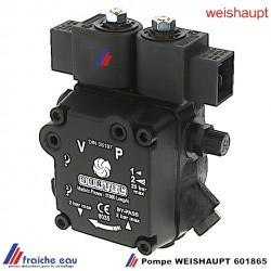 pompe de brûleur WEISHAUPT 60185 à 2 allures avec bobines d'électrovanne pour brûleur WL type 10-20-30