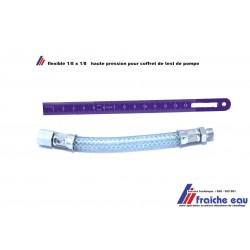 flexible pour la prise de mesure à distance de la pompe du brûleur fioul pour la mesure de pression et dépression