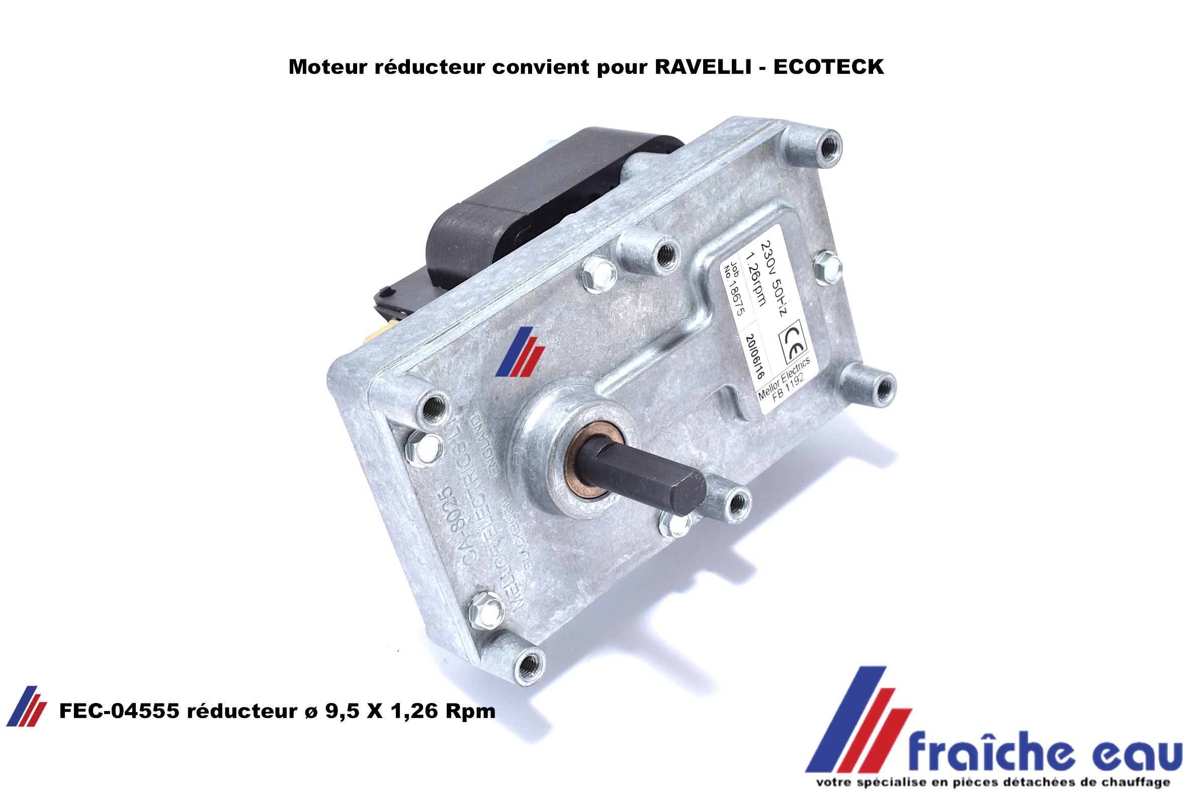 Kit de remplacement pour ventilateur de po/êle /à bois Moteur et ventilateur de rechange