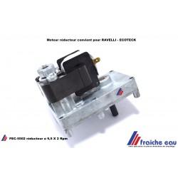 moteur réducteur 2RPM pour poêle et insert , cassette à pellets, chastre, habay, silly, bertrix