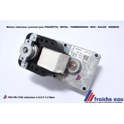 moteur de vis d'alimentation poêle à pellets axe ø9,5 mm/ 1,3 RPM, nivelles, Ath, Arlon, Waterloo