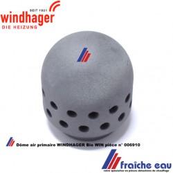 dôme de diffusion d'air primaire pour le foyer de chaudière à pellets WINDHAGER art: 006910  primärluftdorn keramik