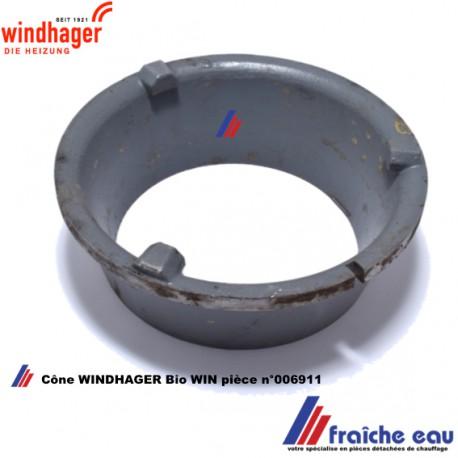 cône intérieur de brasier WINDHAGER article 006911 pour chaudière à pellets BIOWIN ,