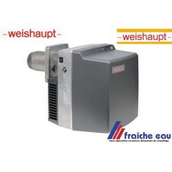 brûleur mzout fiable WEISHAUPT type WL5 -2 B puissance de 25 à 55Kw de stock , le brûleur le plus fiable du marché