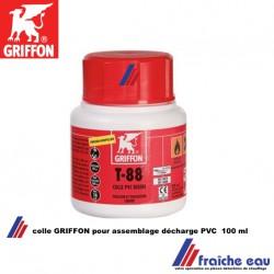 colle GRIFFON T 88 pour l'assemblage de système de déchage en PVC rigide