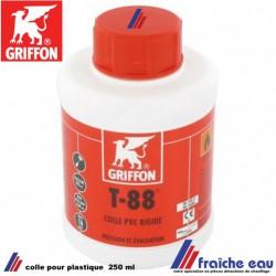 colle GRIFFON T 88 pour canalisation en PVC, décharge et accessoires de canalisation à écoulement libre