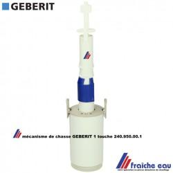 soupape de vidange de chasse GEBERIT 240.950.00.1 cloche de réservoir de toilette pour réservoir apparent de WC