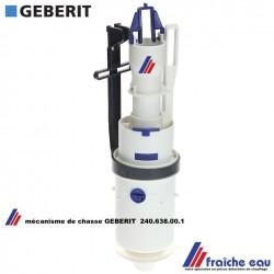 mécanisme de vidange de chasse GEBERIT 240.638.00.1 cloche de remplacement en échange standard  pour réservoir encastré ARTLINE
