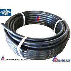 tube SOCAREX série BSR renforcé diamètre 4/4 en rouleau de 25 mètres, tuyau EUCALENE PE40 directement dans la tranchée