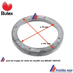 pièce détachée de remplacement joint de boiler BULEX 1464155 , joint à lèvre de résistance  pour chauffe eau électrique