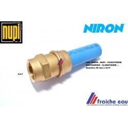 raccord mécanique  à compression pour tube NIRON - NUPI - FUSIOTHERM diamètre 40 x 5/4 F