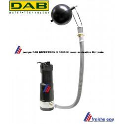 pompe immergée 60165968  DAB DIVERTRON X 100 M avec aspiration flottante d'origine