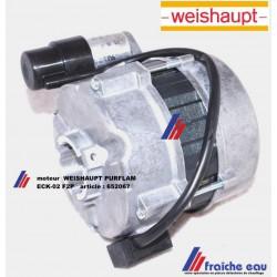 moteur de brûleur mazout à flamme bleue WEISHAUPT PURFLAM article 652067