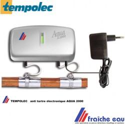 anti tartre électronique TEMPOLEC est la solution écologique pour tous les problèmes de calcaire fonctionnement automatique