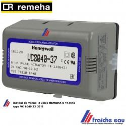 moteur de vanne melangeuse à 3 voies REMEHA S 113643 pour QUINTA 28C et 35C, Actuator , motor VC 8040 ZZ 37 E