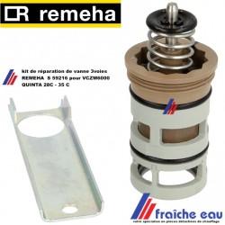 insert de remplacement Reparatie  klephuis VCZM6000 Q28c/35c de vanne 3 voies REMEHA S 59216, kit de réparation de vanne melange