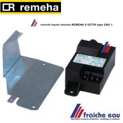transfo d'allumage haute tension REMEHA S 62750 , ontstekingstrafo voor Avanta Solo/Silver/Gold Plus