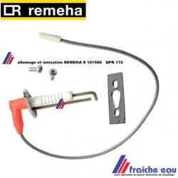 électrode d'allumage et détection  par ionisation REMEHA S 101566, ontstekingsionisatie-Elektrode QP45_115
