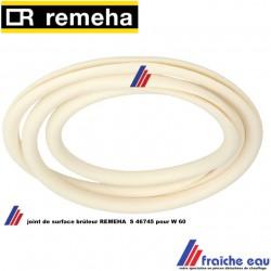 joint rond REMEHA S 46745 , pour brûleur W60, wisselstukken Afdichtingsring onderdelen  branderdek 40 kW