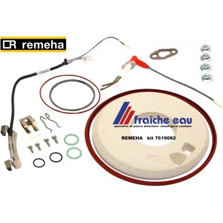 kit d'entretien service après vente REMEHA 7619082, Onderhoudsset (pakkingen plus elektrode) Aquanta / Avanta Plus.