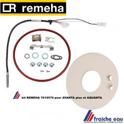Isolation plaque frontale échangeur de chaleur REMEHA 7619579 , Isolatie voorplaat warmtewisselaar Avanta(Plus)/Aquanta