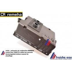 relais ,  besturingsblok , automate de combustion REMEHA control box 7626774 pour brûleur mazout de chauffage