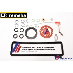 Kit de maintenance 7668128 type  C pour chaudière REMEHA Calenta Ace 40c, onderhoudsset C voor ketel Calenta Ace 40c
