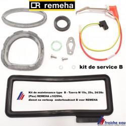 Kit de maintenance type  B - Tzerra M 15s, 25s, 24/28c (Plus) REMEHA s102994, dienst na verkoop  onderhoudsset B voor REMEHA