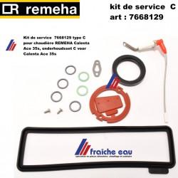 Kit de service  7668129 type C pour chaudière REMEHA Calenta Ace 35s, onderhoudsset C voor Calenta Ace 35s