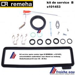 kit service après ventes type B REMEHA : s101453, wisselstukken onderdelen voor dienst na verkoop,Onderhoudsset voor 30 - 40 Kw