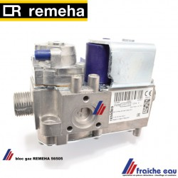 bloc gaz HONEYWELL VK 8125 V 1050 B,  REMEHA S56505 vanne gaz pour QUINTA 25-28-30-35, Gascombiblok voor Q25-30-28-35