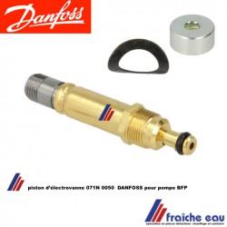 piston d'électrovanne DANFOSS pour pompe BFP 21 - 31 - 41 - 52 , noyau de vanne magnétique 071N0050 pour  pompe de brûleur