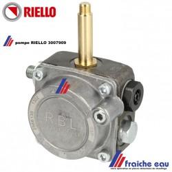 pompe de brûleur RIELLO 3007909 avec raccordement pour le verin de clapet d'air, livrée sans bobine