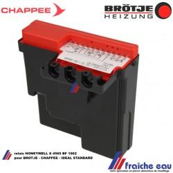 relais gaz HONEYWELL S 4565 BF 1062 manager de combustion pour chaudière gaz CHAPPEE - BROTJE - IDEAL STANDARD