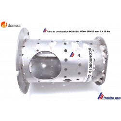 chambre de combustion, brasier, creuset de foyer, de chaudière à pellets DOMUSA RCON000019, pot de combustion en inox