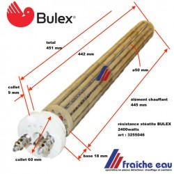 résistance chauffante stéatite de boiler,chauffe eau électrique , pièces détachées ,BULEX ET ATLANTIC