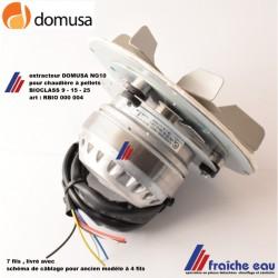 extracteur de fumées pour chaudière DOMUSA NG 10  BIOCLASS , ventilateur de combustion pour 9-15-25 kw remplace l'ancien modèle