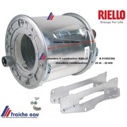 chambre de combustion RIELLO  foyer de brûleur R 01005366 , pour chaudière RESIDENCE  CONDENS 25 IS - 25 KIS