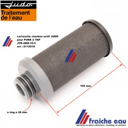 cartouche de super filtre PURE TAP art:  8115016 JUDO. modèle JFK-AKB-10-4  ultra filtration à charbon actif en bloc