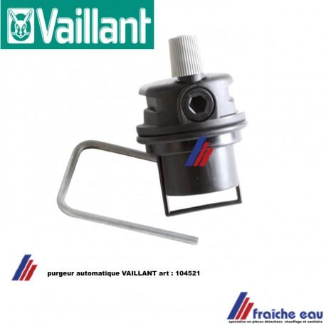 purgeur automatique dégazeur VAILLANT 104521,wisselstukken gaswandketel condensatie gas automatische ontluchter