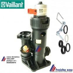 pièces de chauffage en Belgique : vanne de déviation VAILLANT 0020020015 vanne 3 voies corps en plastique
