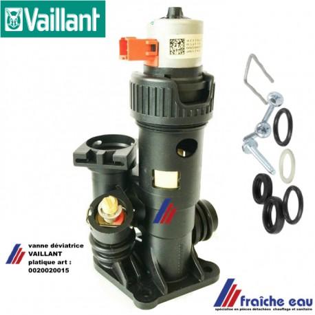 vanne de déviation VAILLANT 0020020015 vanne 3 voies plastique
