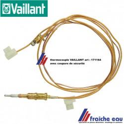 thermocouple avec interrupteur de sécurité ,thermokoppel VAILLANT art : 171164