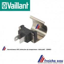 capteur de température , sonde NTC VAILLANT 256803, probe, sensor, Temperatuurvoeler NTC